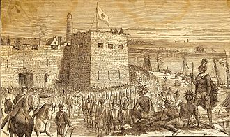 Battle of Fort Oswego (1756) - Battle of Fort Oswego