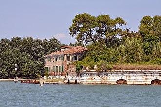 Vignole - Image: Fort San Andrea on Vignole, Venecia 001