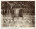 Fotografi av Sevilla Alcázar, Parte superior del Salon de Embajadores - Hallwylska museet - 104790.tif