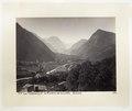Fotografi av berget Tödi och Linthfloden i Schweiz - Hallwylska museet - 103162.tif