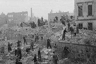Bombing of Leipzig in World War II - Leipzig in 1948