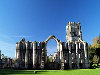 Fountains Abbey near Ripon Fountains Abbey, 1.jpg