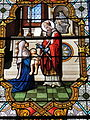 Fr Chapelle Notre-Dame-de-Lhor Saint Blaise stained glass - center detail.jpg