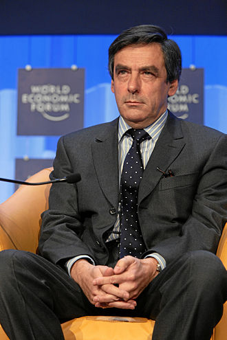 François Fillon - Fillon attending the 2008 Davos World Economic Forum