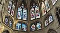France, Paris, détail des vitraux de labside de léglise Saint-Séverin.jpg