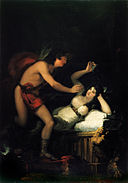 Francisco de Goya - Allegory of Love, Cupid and Psyche (?) - Google Art Project.jpg