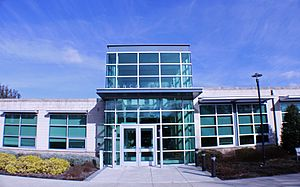 Penn State Berks - A front view of the Franco Administrative Building