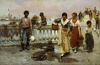 Water Carriers, Venice