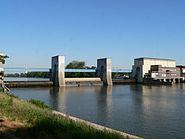 Frankfurt Griesheim Schleuse