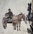 Frederik Collett - Man with Horse and Cart - NG.M.03085 - National Museum of Art, Architecture and Design.jpg