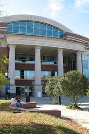 James E. Walker Library - Image: Front of James E. Walker Library Building