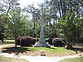 Fulwood Park, Tifton, Confederate Monument and Cannon.JPG