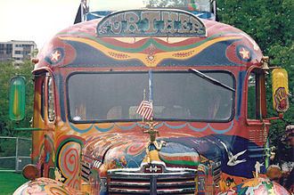 Further (bus) - Front view of the second bus, acquired in 1990