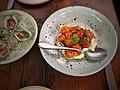 Fuyu persimmon, french feta, winter herbs, bee pollen, urfa, honey vinegar.jpg