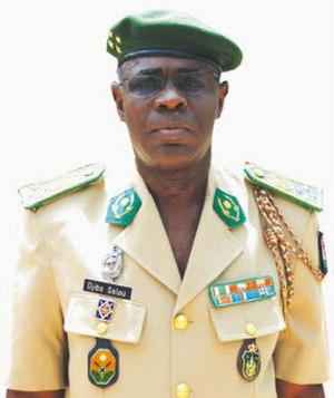 Salou Djibo - Image: Général de corps d'armée Salou Djibo