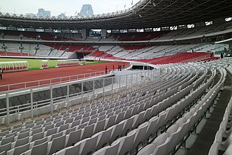 Gelora Bung Karno Stadium - The new seats