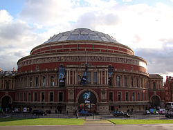 La famosa sala concerti Royal Albert Hall