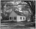 GENERAL PERSPECTIVE VIEW LOOKING NORTHEAST - Hope Grange No. 43, Hope Grange Road, Bowentown, Cumberland County, NJ HABS NJ,6-BOWT.V,1-1.tif