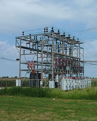 Load balancing (electrical power) - Electrical substation