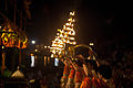 Ganga Aarti in evening at Dashashwamedh ghat, Varanasi 03.jpg