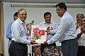 Ganga Singh Rautela Receives Retirement Gift From Arijit Dutta Choudhury - NCSM - Kolkata 2016-02-29 1691.JPG