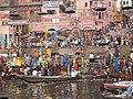 Ganges river at Varanasi 2008.jpeg