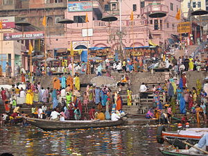 Water supply and sanitation in India - Millions depend on the Ganges river.