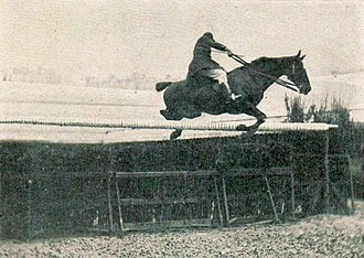 Equestrian at the 1900 Summer Olympics - Dominique Gardères, winner of the high jump competition