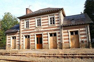 Baud, Morbihan - Baud railway station