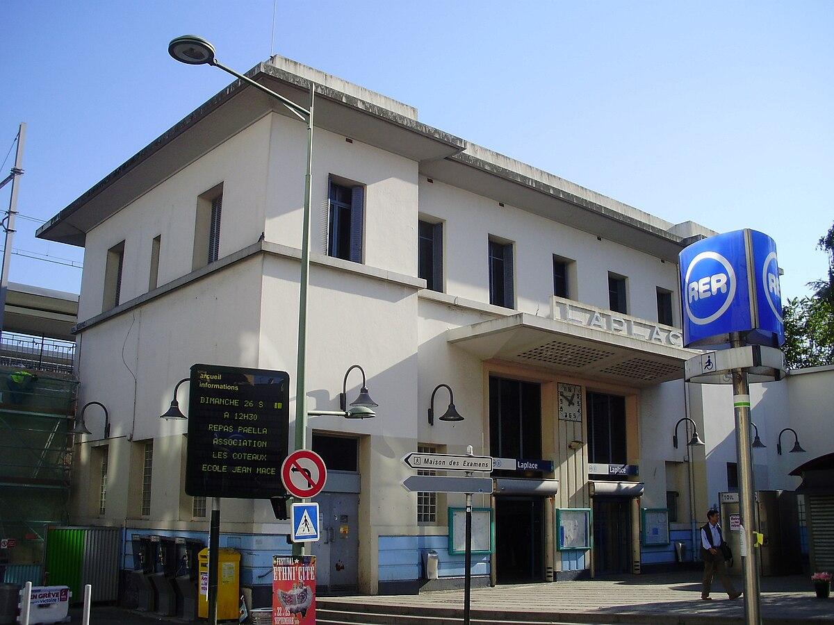 Gare de laplace wikip dia for Arcueil cachan maison des examens