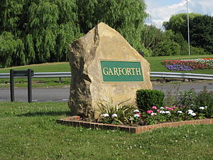 Garforth - Image: Garforth Stone