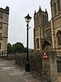 Gas lamp post approximately 15 meters north west of the Old Deanery.jpg