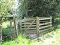 Gate and new Footpath - geograph.org.uk - 1327957.jpg