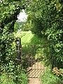 Gate into churchyard - geograph.org.uk - 1431039.jpg