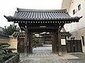 Gate of Sokyuji Temple in Fukuoka City.jpg