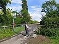 Gate to Thorpe Satville - geograph.org.uk - 1054053.jpg