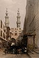 Gateway of the Metwaleys with minarets, Cairo, Egypt. Colour Wellcome V0049383.jpg