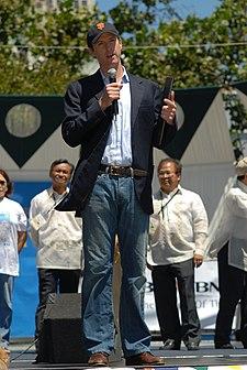 Newsom at the 2007 San Francisco Annual Pistahan Days