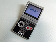 GameBoy Advance SP édition NES