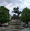 Gdańsk Targ Drzewny, pomnik króla Jana III Sobieskiego - panoramio.jpg