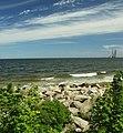 Gdaňsk, Westerplatte, břeh Baltského moře.JPG