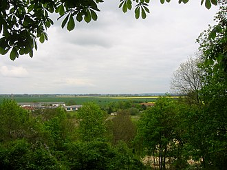 Battle of the Seelow Heights - A modern view over the Oder from the Seelow Heights