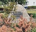 Gedenkstein Heerstr 428 (Staak) Rudolf Wissell Großsiedlung.jpg