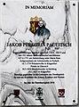 Gedenktafel Jakob Peregrin Paulitsch 1824 - 1827, Bischof von Gurk, Kärnten.jpg