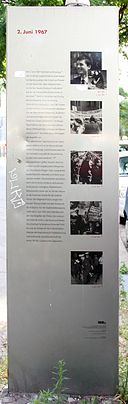 Gedenktafel Krumme Str 65 (Charl) 2 Juni 1967