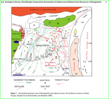 General geologic map of Bangladesh showing some geologic features and sediment thicknesses.PNG