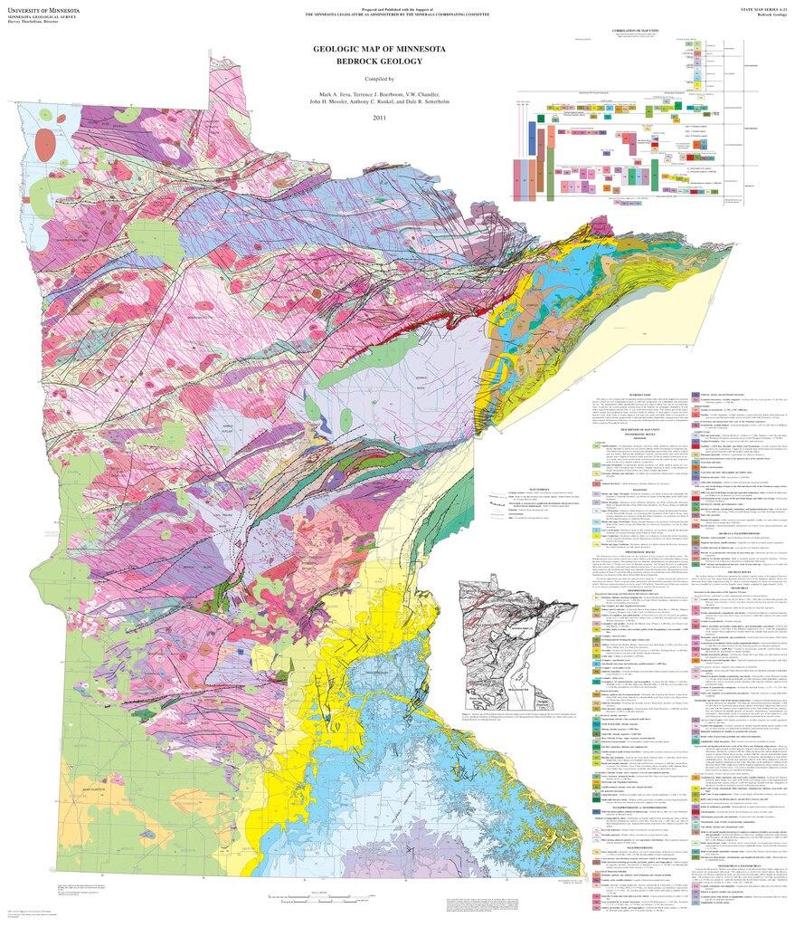 File Geologic Map Of Minnesota Bedrock Geology 2011 Pdf