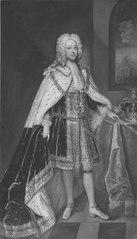 Georg II, 1683-1760 konung av England kurfurste av Hannover