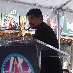 George Lopez - Lopez at his Walk of Fame star dedication ceremony, March 29, 2006