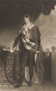 George Chichester, 2nd Marquess of Donegall Irish politician